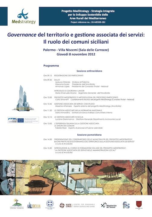 manifesto MedStrategy - 8 novembre 2012