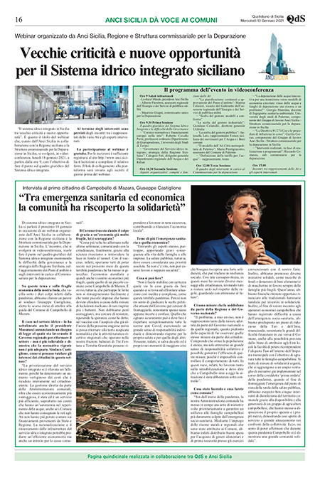 AnciSicilia e Quotidiano di Sicilia