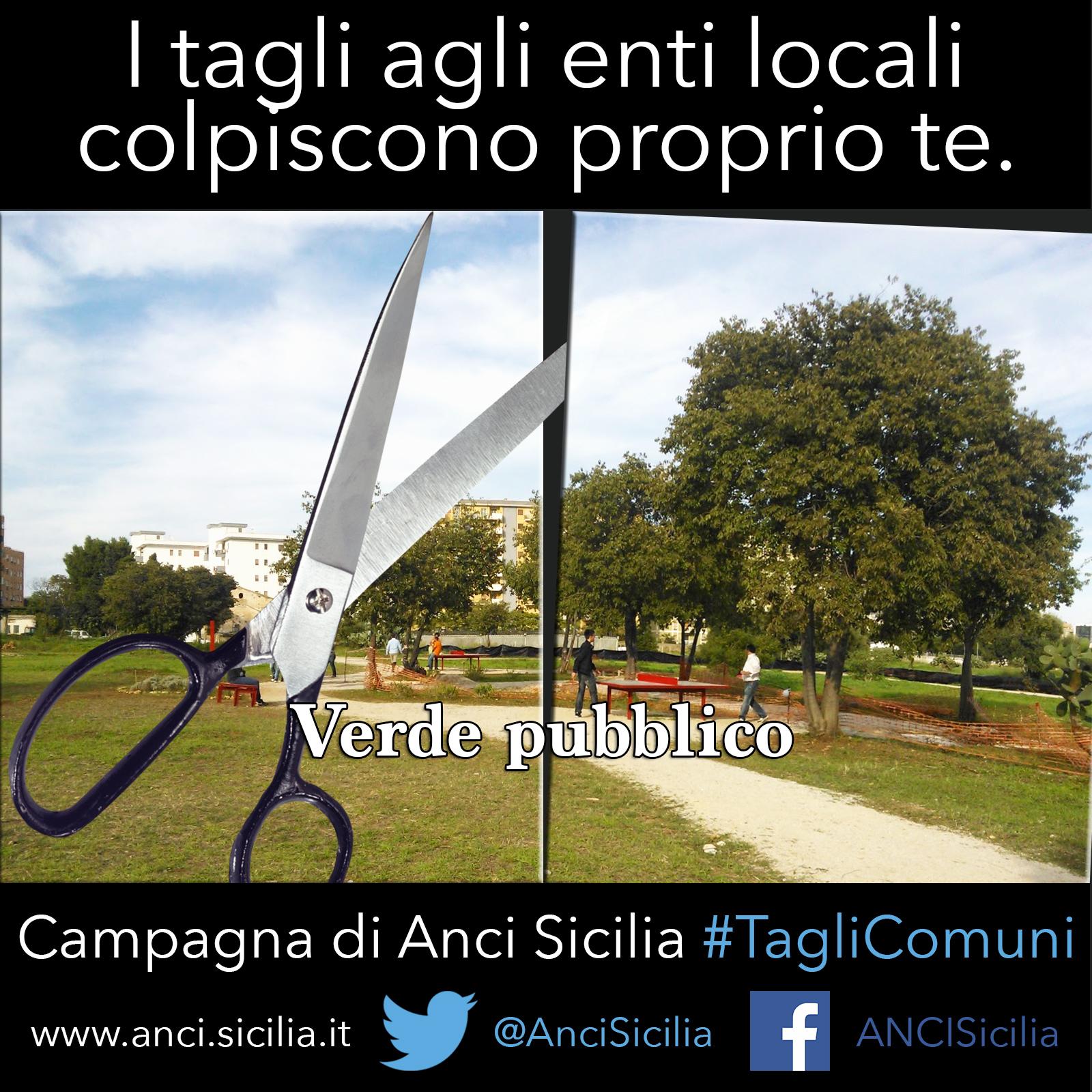 TagliComuni - verde pubblico